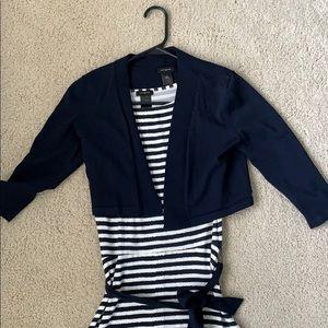 Navy shirt sweater for dresses